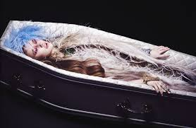 casket couture seven looks for a high fashion halloween fashion