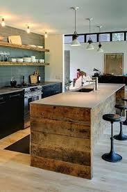 ilot centrale de cuisine cuisine avec îlot central 43 idées inspirations cuisine avec
