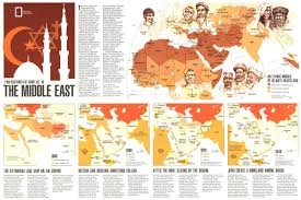 mid east map two centuries of conflict in the middle east map 1980 maps
