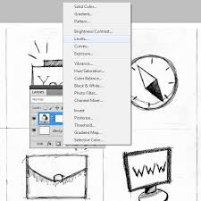 how to create vector sketch using photoshop and illustrator