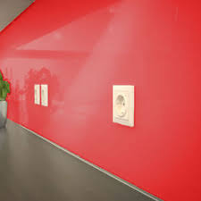 küche wandschutz küchenrückwand 8mm acryl rot ral 3020 wandschutz küche acrylglas