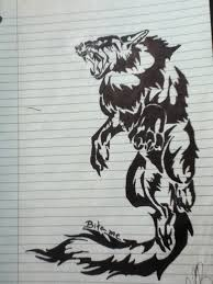traditional wolf by v is a beast on deviantart