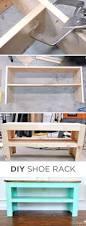 Shoe Shelves For Wall Top 10 Ideas How To Make A Diy Shoe Rack Diy Shoe Rack Shoe