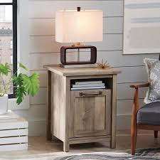 Farmhouse Side Table Better Homes And Gardens Farmhouse Collection Walmart