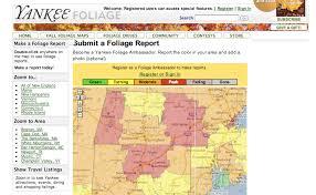 tuesday travel website week yankee magazine foliage maps