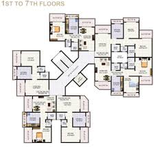 650 Square Feet Floor Plan Jewel Arista By Capricorn Properties 1 2 Bhk Apartmnets In