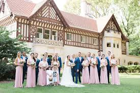Mansion Rentals In Atlanta Georgia Garden Wedding At Callanwolde Fine Art Center In Atlanta The