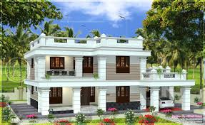 flat roof house designs kerala house design