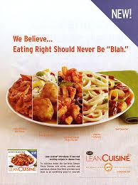 lean cuisine keeps it simple and clean admonkey