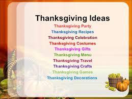 thanksgiving day idea decoration 2012