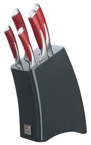 sheffield kitchen knives richardson sheffield 5 kyu knife block set silver