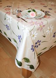 Beautiful Painting Designs by African Inspired Hand Painted Tablecloths These Designs Originated