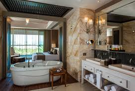 bathrooms in your presidential suite grand luxxe punta