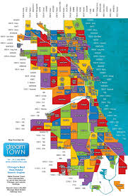 Chicago Police District Map by Map Of Chicago Districts Chicago Map