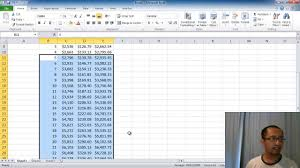 microsoft excel lesson 2 compound interest calculator absolute