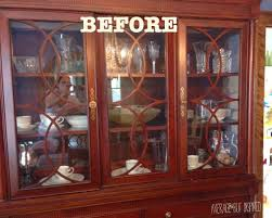 Kitchen China Cabinet Hutch Tips On How To Arrange A China Cabinet Average But Inspired