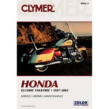 amazon com clymer repair manual for honda gl1500c valkyrie 97 03