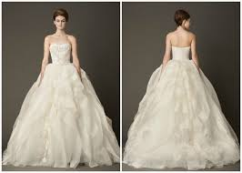 vera wang wedding dresses prices your favorite vera wang wedding gowns pic heavy