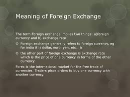 meaning of bureau de change forex ppt
