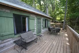 cabin porch cozy cabin