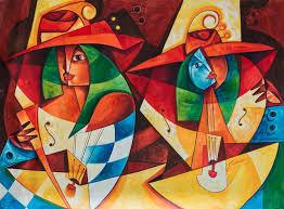 jose salazar vazquez 2f acrylic cuban painting