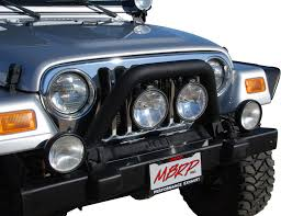 2012 jeep liberty light bar off camber fabrications 131086 front light bar grill guard for 97