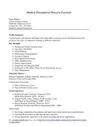 receptionist resume in bangalore sales receptionist lewesmr
