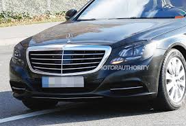 refreshed 2018 mercedes s class spied mbworld org forums