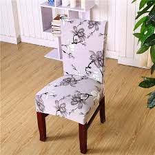 cloth chair covers floral printed universal spandex stretch removable elastic