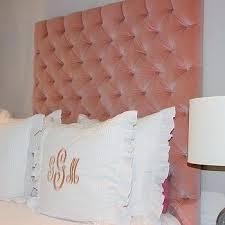 Velvet Tufted Headboard Pink Velvet Headboard Pink Velvet Tufted Headboard Vintage
