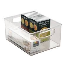 interdesign kitchen cabinet and pantry organizer bin 25 5 cm x