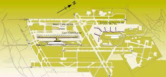 Detroit Airport Terminal Map Um Vrl Detroit Midfield Terminal Project