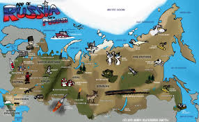 russia in maps 17 interesting facts about russian geography interesting facts