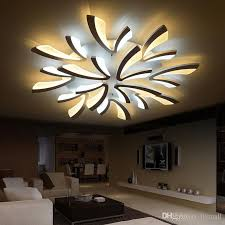 Acrylic Ceiling Light 2018 New Acrylic Modern Led Ceiling Lights For Living Room Bedroom