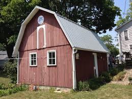 gambrel roof barns pro rib steel gambrel roof barn edgerton ohio jeremykrill com