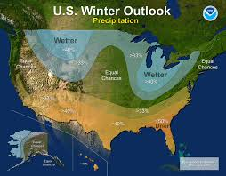 us cover map noaa u s winter outlook noaa forecasters predict cooler wetter