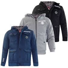 new kids rawcroft branded jackets boys furliner winter coats