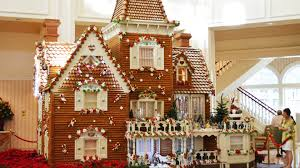 Ginger Home Decor by Disney U0027s Grand Floridian Resort Gingerbread House Final Dusting