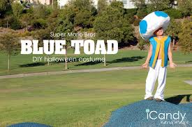 Toad Halloween Costume Diy Halloween Costume Blue Toad Icandy Handmade