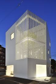 Home Design Building Blocks by Perforated Building Facades That Redefine Traditional Design