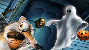ice age 5 squirrel short scary ghost halloween cartoon for kids