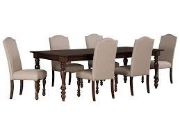signature design by ashley baxenburg 7 piece dining room extension