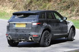 land rover camo 2019 range rover evoque mk2 to use wider platform for more cabin