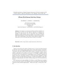 human interface design iphone human interface design pdf available