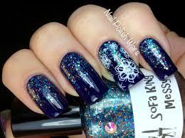nail polish wars snowflake gradient