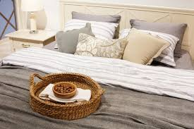 room home luxury style modern interior download hd nuts in a wicker basket on the bed a gift for guests luxury modern