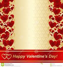 Design For Valentines Card Background For Valentines Day Or Wedding Design Stock Image