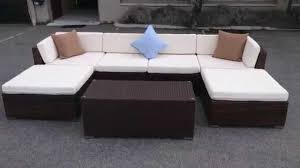 Outdoor Sectional Sofa Cover Barcelona Outdoor Sectional Sofa Set Wicker