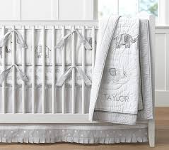 White Nursery Bedding Sets Baby Bedding Pottery Barn