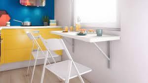 table cuisine escamotable ou rabattable table cuisine escamotable accessoires de galerie et plan de travail